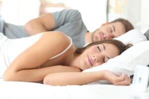 Ziel besser Schlafen
